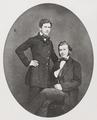 HANS OCH WALTHER VON HALLWYL, år 1859 - Hallwylska museet - 89067.tif