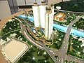 HK Riverpark model n Shing Mun River Channel n Lion Rock Tunnel Road n Che Kung Temple MTR Station Dec-2012.JPG