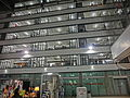 HK Sheung Wan PMQ mall facade Hollywood Road night May-2014 009.JPG