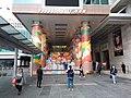 HK TST 尖沙咀 Tsim Sha Tsui 海港城 Harbour City front square view Ocean Centre entrance stairs CNY 農曆新年 裝飾 decoration January 2020 SSG 11.jpg