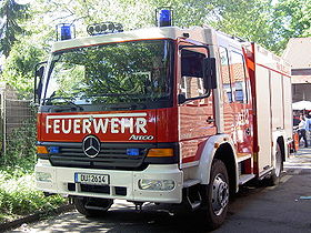 Fire fighting vehicle 20