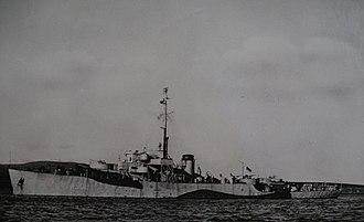 Colony-class frigate - Image: HMS Ascension