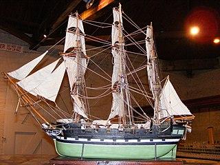HMS <i>Buffalo</i> (1813) British storeship