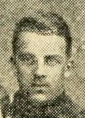 H. M. Wheaton - Wheaton pictured in the 1908 Yale football team photo