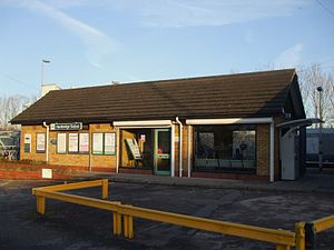 Hackbridge railway station - Image: Hackbridge station building