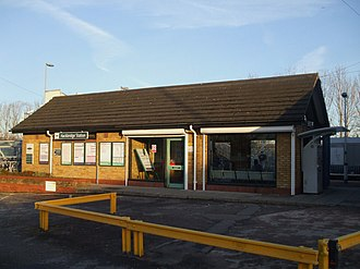 Hackbridge railway station - Image: Hackbridge station building