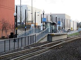Hall/Nimbus station Train station in Beaverton, Oregon