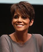 Photo of Halle Berry attending San Diego Comic-Con International in 2013.