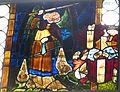 Hallstatt Michaelskapelle - Michaelsscheibe.jpg