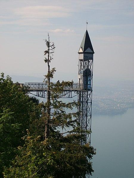 Hammetschwand Elevator ascensor más alto Suiza