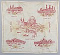 Handkerchief, Chicago World's Fair, 1893, 1893 (CH 18621723).jpg