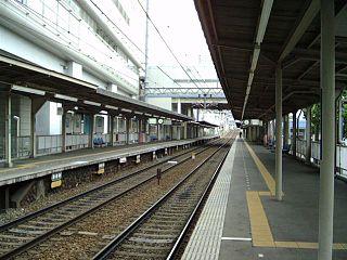 Hotarugaike Station Railway and monorail station in Toyonaka, Osaka Prefecture, Japan