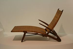 Danish design - Hans Wegner chair in the Centre Pompidou, Paris