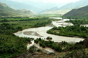 Haraz River - Haraz River in Amol County in Spring.