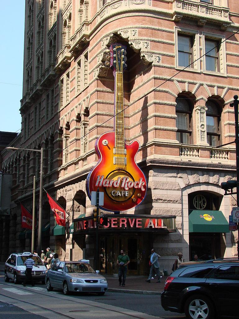 Philadelphia Hard Rock Cafe Shirt