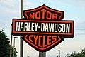 Harley-Davidson sign in Wootton - geograph.org.uk - 1372894.jpg