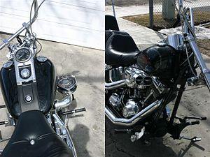 Ram-air intake - Motorcycle with gooseneck mounted hypercharger air intake