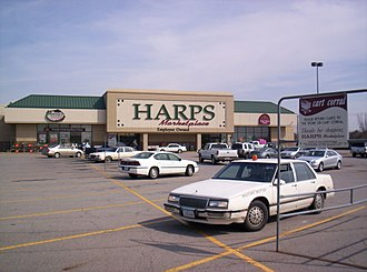Harps Food Stores - HARPS Marketplace store in 2005 - Fort Smith, Arkansas