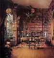 Harriet Backer - Thorvald Boecks bibliotek - Nasjonalmuseet - NG.M.03504.jpg