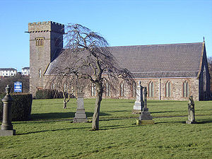The parish church of Harrington, Cumbria.