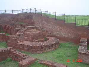 Thanesar - Harsha Ka Tila mound west of Sheikh Chilli's Tomb complex, with ruins from the reign of 7th century ruler Harsha.