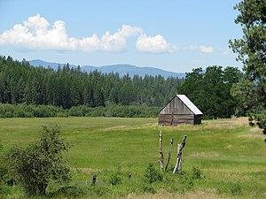 Little Pend Oreille National Wildlife Refuge - Image: Hartnett Homestead 1 Little Pend Oreille NWR, Washington (7071606941)