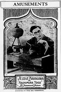 <i>Hashimura Togo</i> 1917 film by William C. deMille