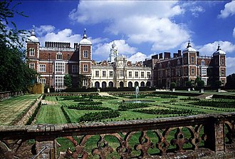 Hatfield House - South facing view of Hatfield House
