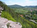Hauenstein und den Wasgau mit Blcik Nedingfelsen bei Hauenstein.jpg