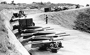 Hill 327 - HAWK missiles on Hill 327 in 1965