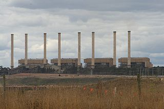 Hazelwood Power Station coal-fired power station in Victoria, Australia