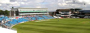 Headingley - The new east stand, members long ...