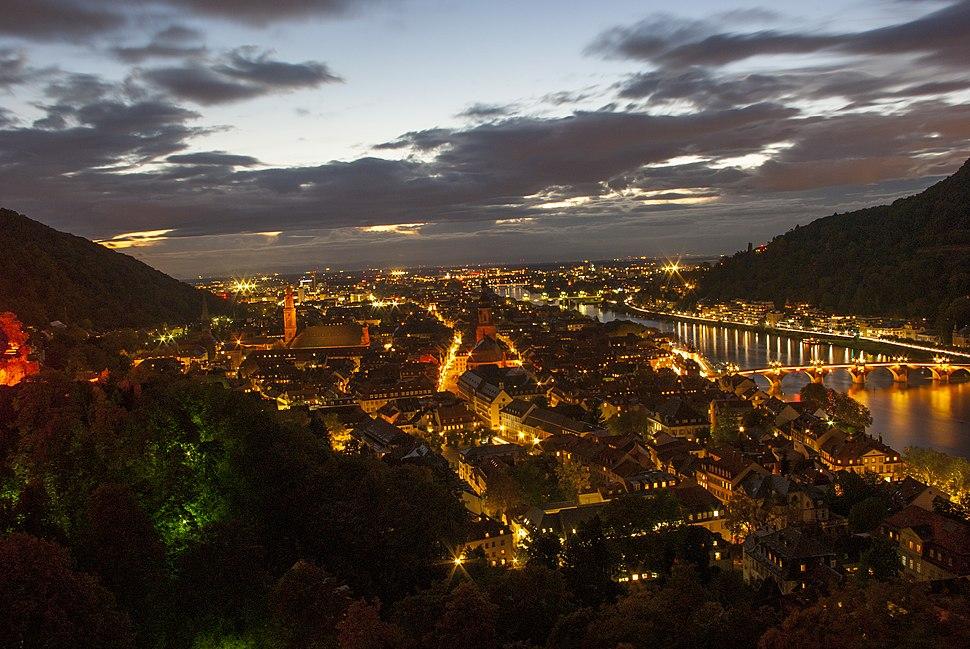 Heidelberg nachts