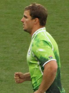 Heinrich Brüssow South African rugby union player
