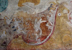 Mot (god) - Medieval depiction of Hell personified as fearsome monster, based on Old Testament descriptions of Mot