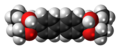 Hemicholinium-3 cation spacefill.png