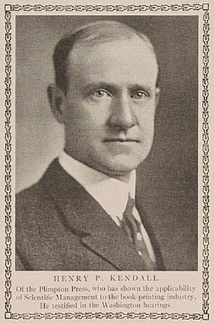 Henry P. Kendall - Henry P. Kendall from The American Magazine, May 1911