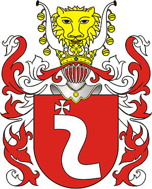 Wacław Potocki - Szreniawa Coat of Arms.