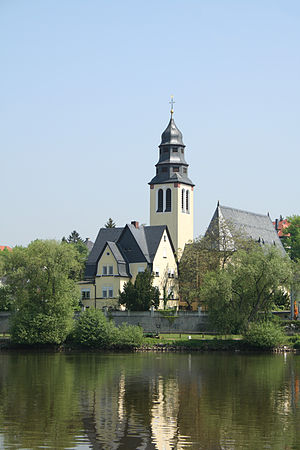 Kelsterbach - Neo-baroque Catholic Heart of Jesus Church