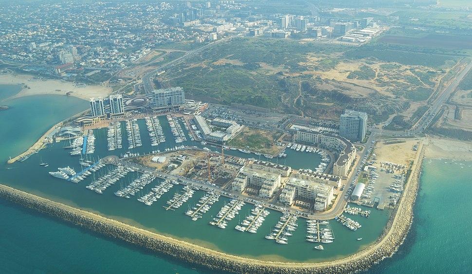 Herzliya Marina Aerial View