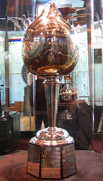 Hart Memorial Trophy - Image: Hhof hart