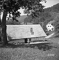 Hiša iz leta 1864 (novo ostrešje), Zgornje Zabukovje 1961.jpg
