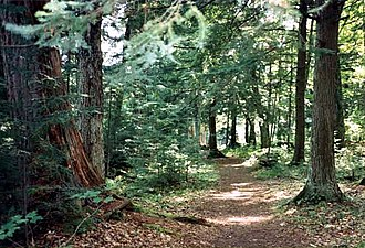 National Register of Historic Places listings in Forest County, Wisconsin - Image: Hidden Lakes Trail