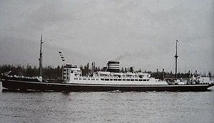 Hikawa Maru-class ocean liner - Image: Hie Maru