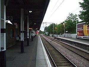 Highams Park railway station - Image: Highams Park stn southbound