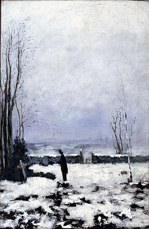 The Cemetery - Image: Hill kyrkogården