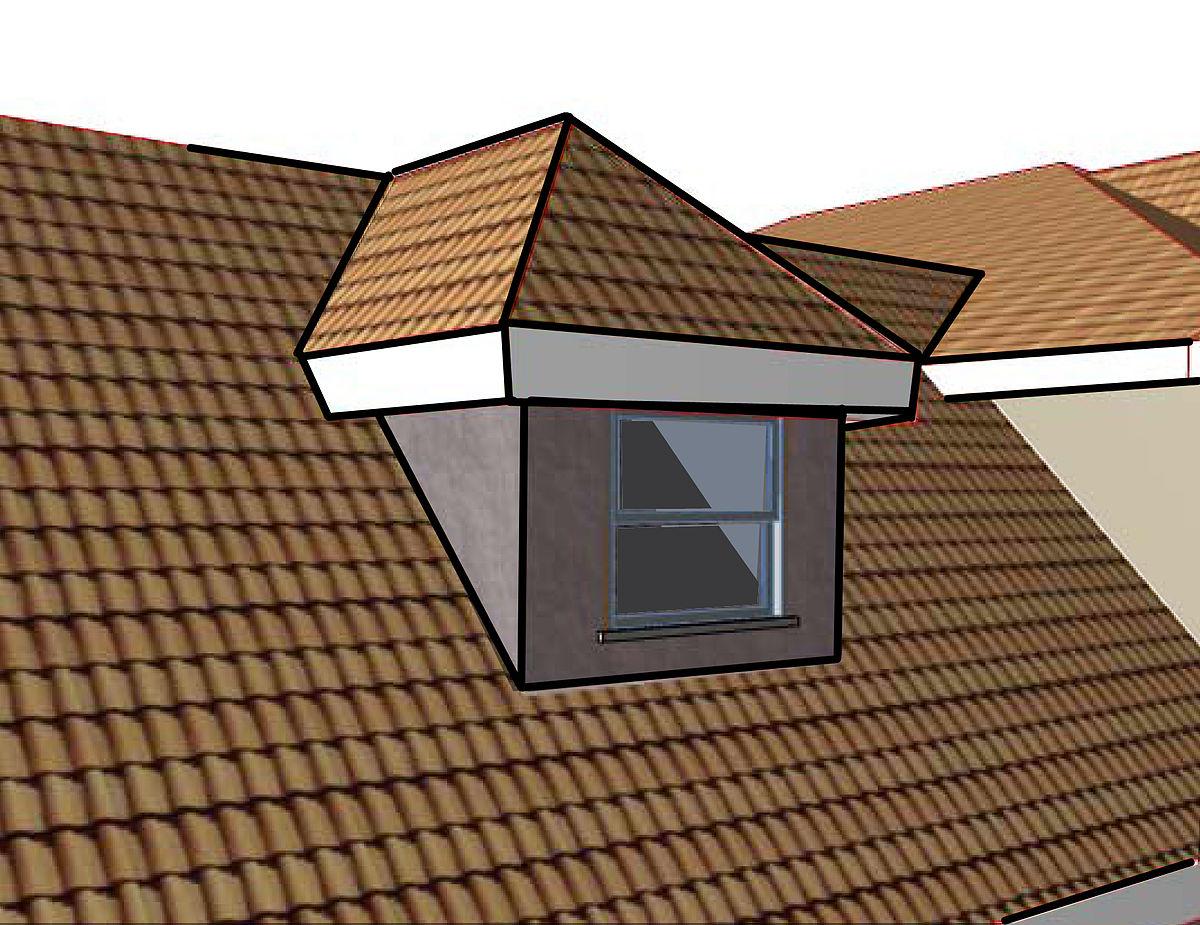Hip Roof Dormer Jpg Wikimedia Commons