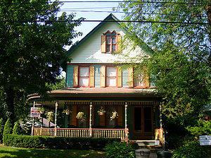 Tottenville, Staten Island - 88 Bentley Street in August 2006