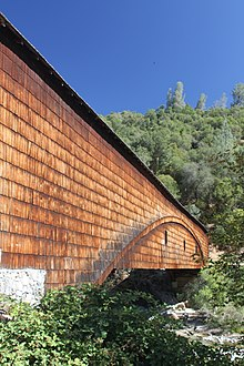 Historic Covered Bridge in Bridgeport, CA at South Yuba River State Park.JPG