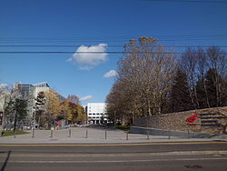 Hokkaido University of Science - gate.JPG